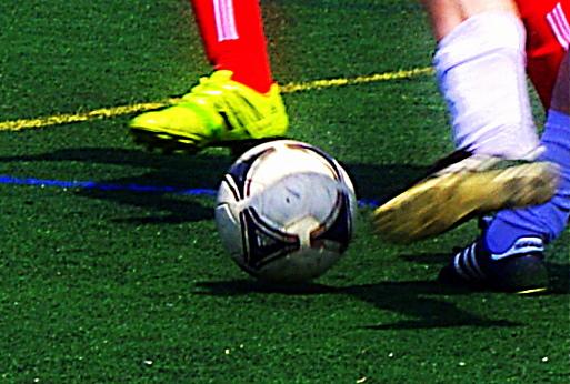 Soccer on Turf Field a