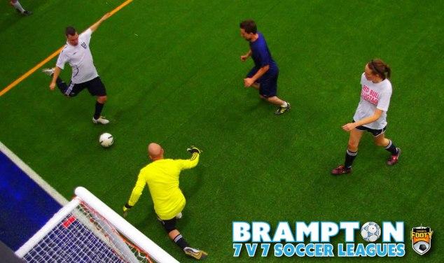 Brampton 7v7 adult soccer leagues