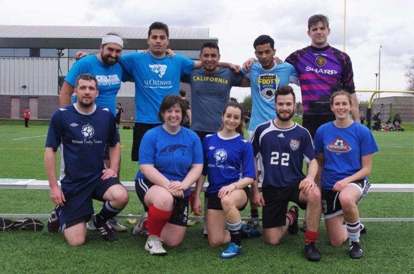 Toronto Footy Sevens 7v7 coed soccer league team