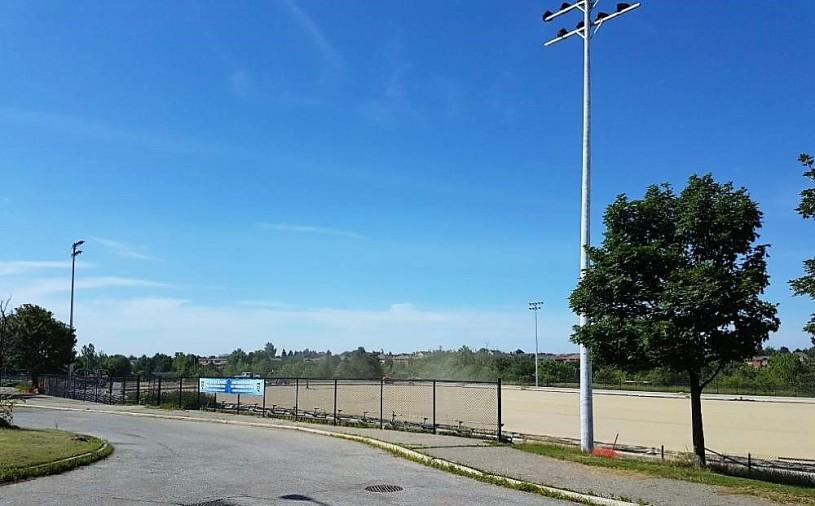 Toronto Footy Sevens field in Brampton