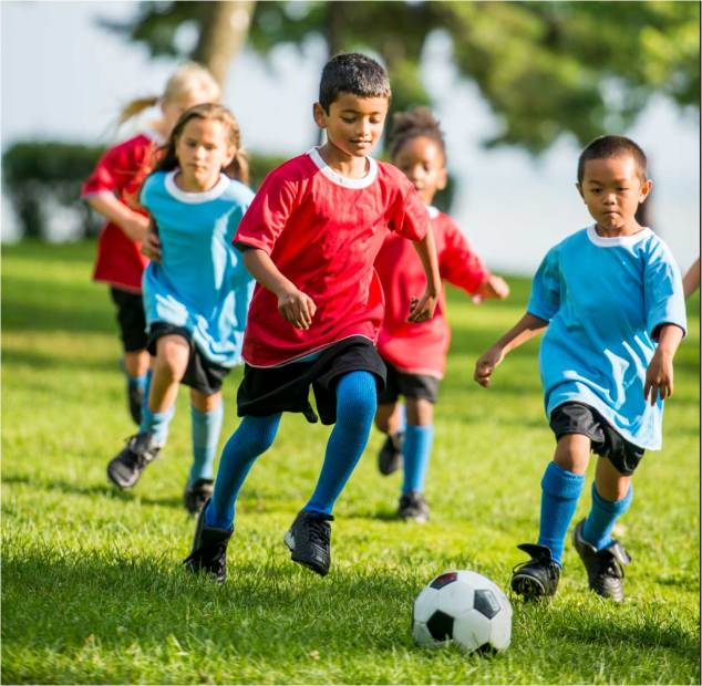 Kids soccer programs for age 4-11