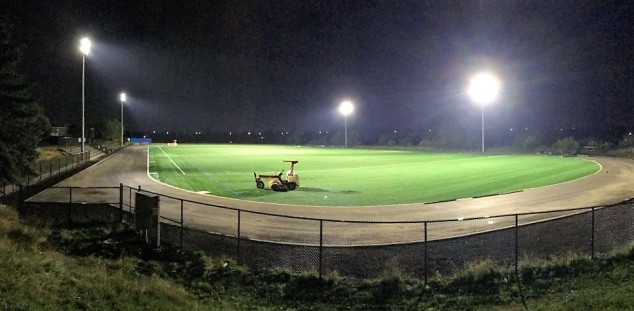New FIFA-grade turf field on Conestoga Drive