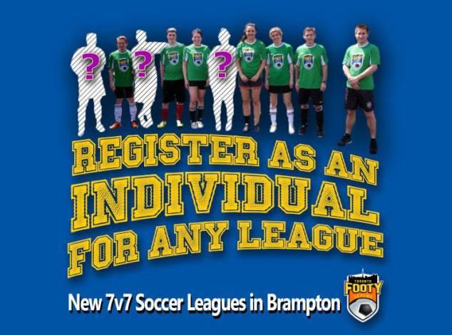 Toronto Footy Sevens Rec Soccer leagues