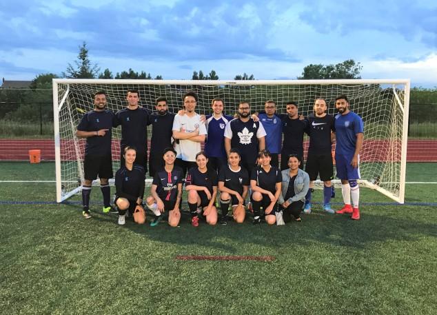 Toronto Footy Sevens Coed Soccer League