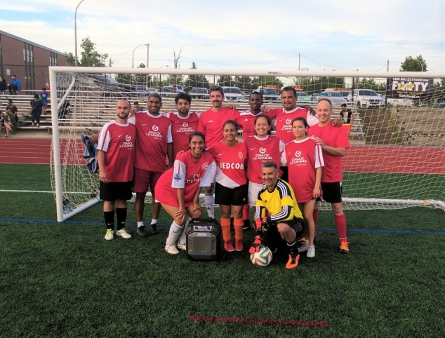 Toronto Footy Sevens Coed Soccer League